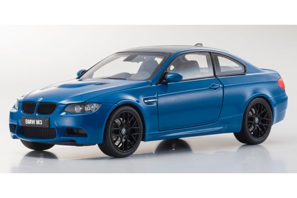 KYOSHO 1/18scale BMW M3(E92) Laguna Sena Blue [No.KS08734LBL]