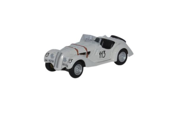 OXFORD 1/76scale BMW 328 Mille Miglia 1938 Fane / James  [No.OX76BM28001]
