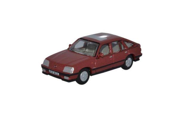 OXFORD 1/76scale Vauxhall Cavalier Carnelian Red  [No.OX76CAV002]