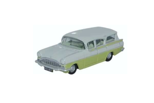 OXFORD 1/76scale Vauxhall Friary Estate Swan White / Lime Yellow  [No.OX76CFE006]