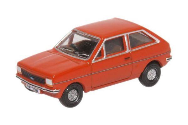 OXFORD 1/76scale Ford Fiesta MK1 Terracotta  [No.OX76FF006]