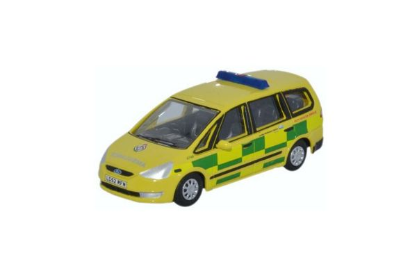 OXFORD 1/76scale Ford Galaxy London ambulance Yellow / Green  [No.OX76FG002]