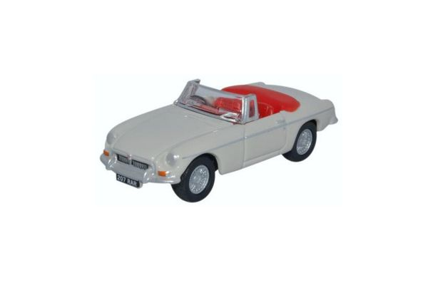 OXFORD 1/76scale MGB roadster Chelsea Gray  [No.OX76MGB007]