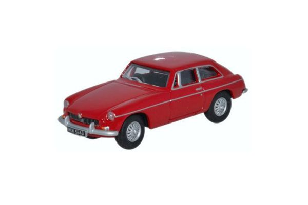 OXFORD 1/76scale MGB GT tartan Red  [No.OX76MGBGT01]