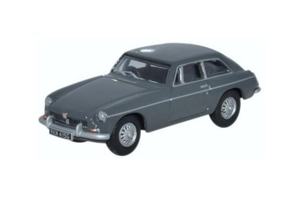 OXFORD 1/76scale MGB GT Gran Pian gray  [No.OX76MGBGT02]