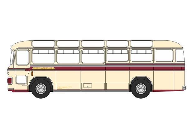 OXFORD 1/76scale Bristol MW6G Bus West Yorkshire  [No.OX76MW6006]