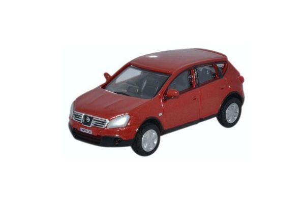 OXFORD 1/76scale Nissan Qashqai Dualis Orange Red  [No.OX76NQ003]