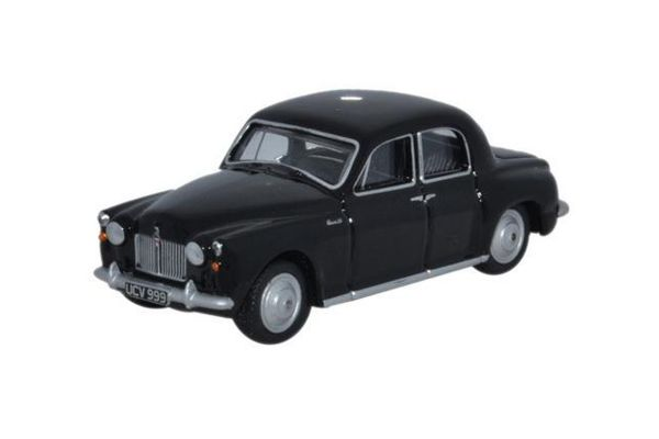 OXFORD 1/76scale Rover P4 Black Cornwall Constabulary  [No.OX76P4003]