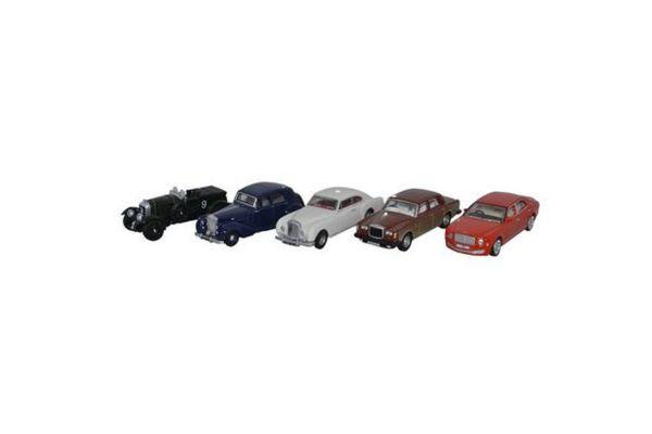 OXFORD 1/76scale Bentley  5 cars set  [No.OX76SET39]