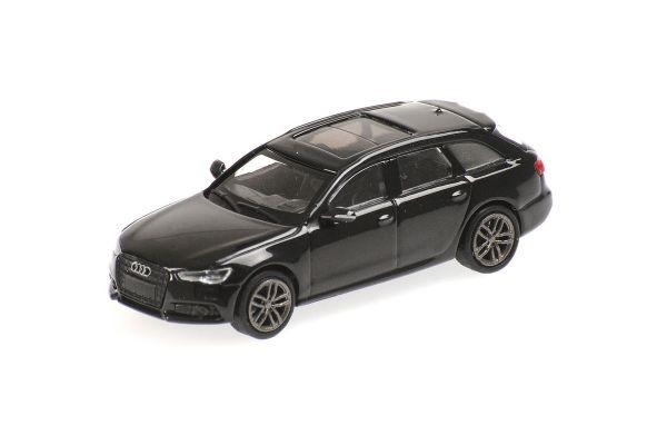 MINICHAMPS 1/87scale Audi A6 Avant 2018 Black  [No.870018110]