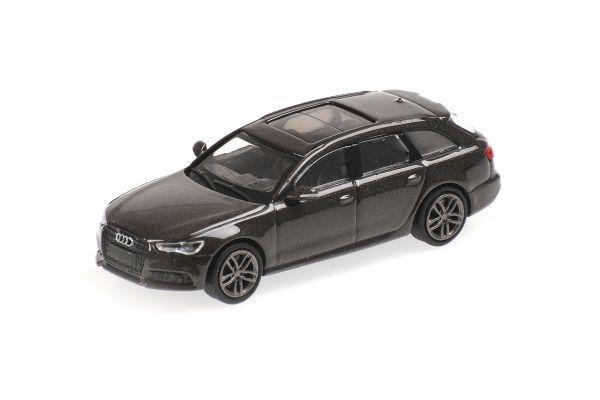 MINICHAMPS 1/87scale Audi A6 Avant 2018 Brown Metallic  [No.870018111]