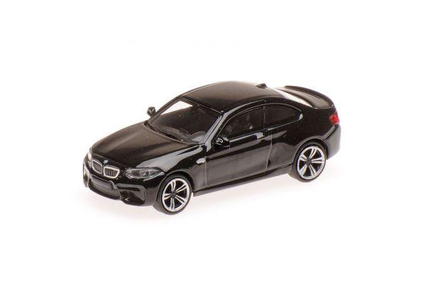 MINICHAMPS 1/87scale BMW M2 – 2016 – BLACK  [No.870027001]