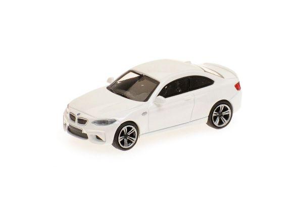 MINICHAMPS 1/87scale BMW M2 – 2016 – WHITE  [No.870027004]