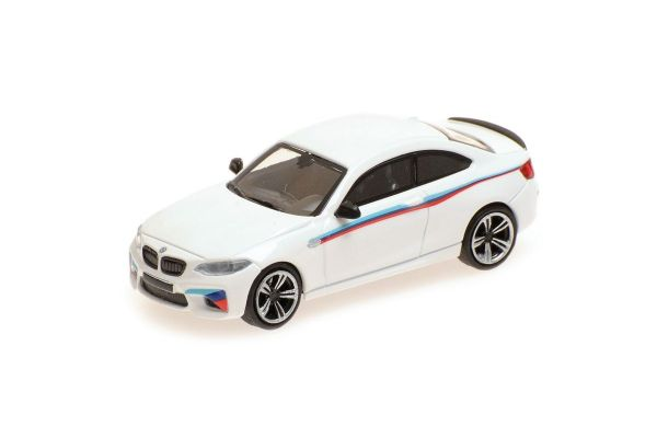 MINICHAMPS 1/87scale BMW M2 2016 WHITE PRESENTATION  [No.870027006]