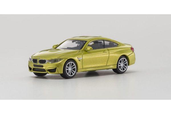 MINICHAMPS 1/87scale BMW M4 – 2015 – YELLOW  [No.870027200]