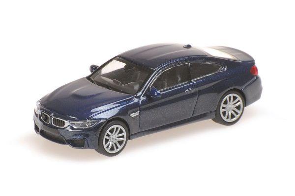 MINICHAMPS 1/87scale BMW M4 – 2015 – BLUE  [No.870027201]