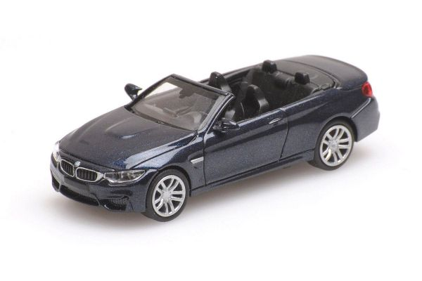 MINICHAMPS 1/87scale BMW M4 CABRIO – 2015 – GREY  [No.870027230]