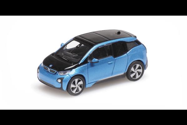 MINICHAMPS 1/87scale BMW I3 2014 Blue Metallic  [No.870028100]