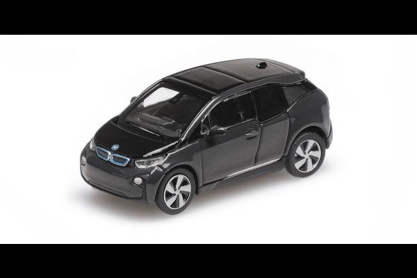 MINICHAMPS 1/87scale BMW I3 2014 Gray Metallic  [No.870028101]