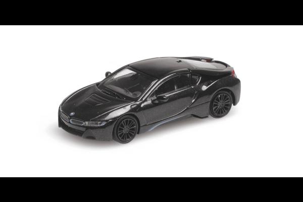 MINICHAMPS 1/87scale BMW I8 Coupe 2015 Gray Metallic  [No.870028222]
