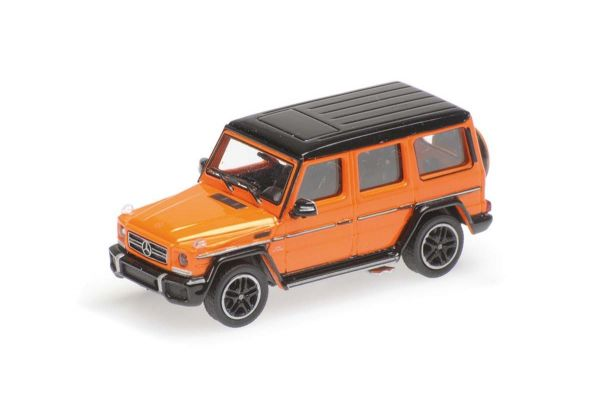 MINICHAMPS 1/87scale MERCEDES-AMG G65 G-CLASS - 2015 - ORANGE METALLIC  [No.870037000]