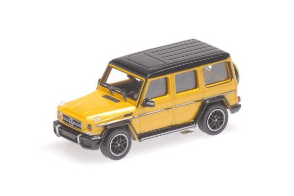 MINICHAMPS 1/87scale MERCEDES-AMG G65 G-CLASS - 2015 - YELLOW METALLIC  [No.870037001]