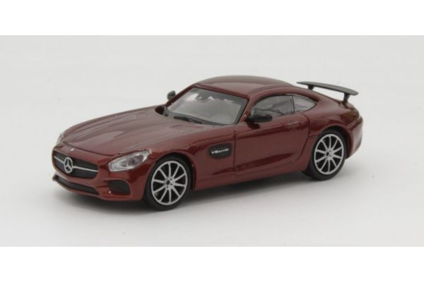 MINICHAMPS 1/87scale MERCEDES-AMG GTS – 2015 – RED  [No.870037121]