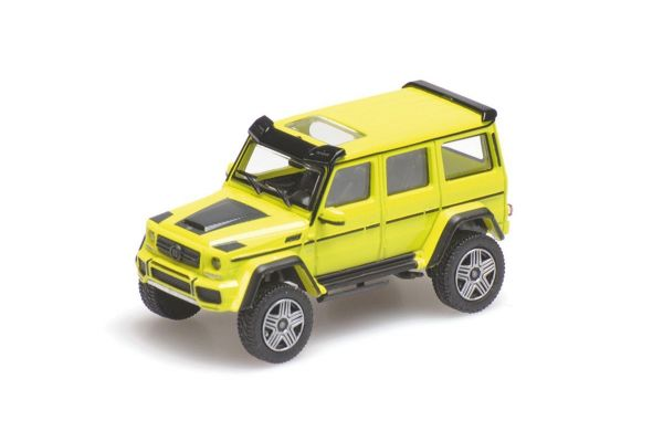 MINICHAMPS 1/87scale BRABUS 4×4² AUF BASIS MERCEDES-BENZ G 500 4×4² – 2016 – YELLOW  [No.870037201]