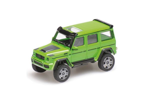 MINICHAMPS 1/87scale BRABUS 4×4² AUF BASIS MERCEDES-BENZ G 500 4×4² – 2016 – GREEN  [No.870037202]