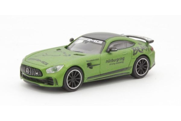 MINICHAMPS 1/87scale MERCEDES-AMG GT-R – 2017 – RING TAXI  [No.870037224]