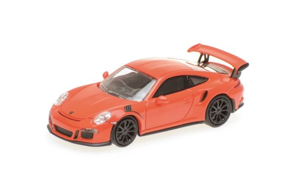 MINICHAMPS 1/87scale PORSCHE 911 GT3 RS – 2013 – ORANGE  [No.870063220]