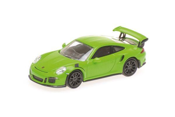 MINICHAMPS 1/87scale PORSCHE 911 GT3 RS – 2013 – GREEN  [No.870063221]