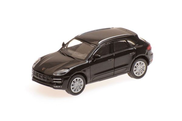 MINICHAMPS 1/87scale PORSCHE MACAN TURBO – 2013 – BLACK  [No.870067001]