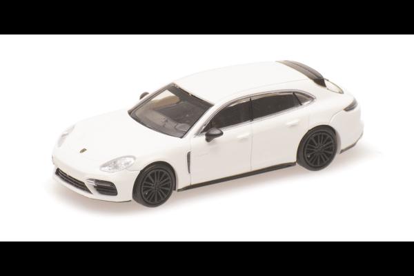 MINICHAMPS 1/87scale Porsche Panamera S Turismo Turbo S 2017 White  [No.870067110]