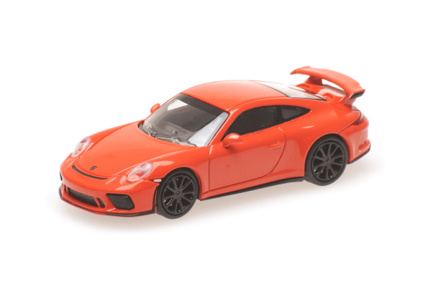 MINICHAMPS 1/87scale Porsche 911 GT3 2017 Orange  [No.870067320]