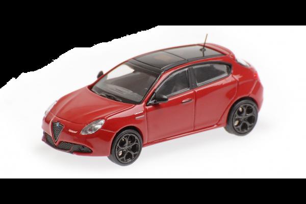 MINICHAMPS 1/87scale Alfa Romeo Giulietta Veloche 2017 Let  [No.870120000]