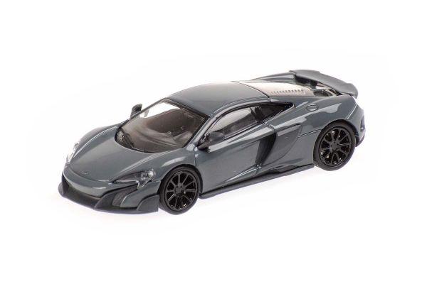 MINICHAMPS 1/87scale McLaren 675LT Coupe Gray  [No.870154420]
