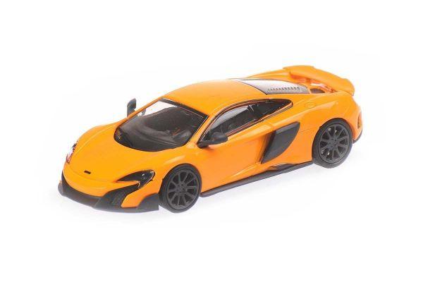 MINICHAMPS 1/87scale McLaren 675LT Coupe Orange  [No.870154421]