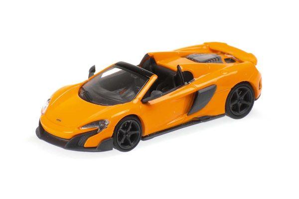 MINICHAMPS 1/87scale McLaren 675LT Spider Orange  [No.870154431]