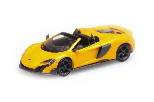 MINICHAMPS 1/87scale McLaren 675LT Spider Yellow  [No.870154432]