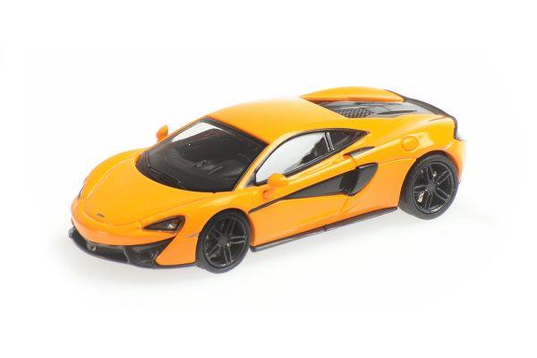 MINICHAMPS 1/87scale McLaren 570S Orange  [No.870154541]