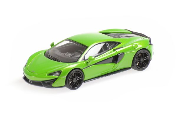 MINICHAMPS 1/87scale McLaren 570S Green  [No.870154542]