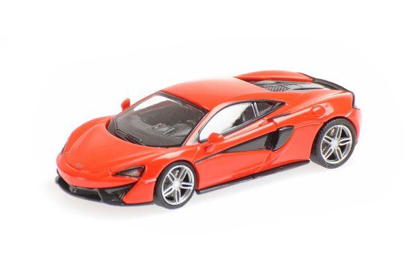 MINICHAMPS 1/87scale McLaren 570S Red  [No.870154544]