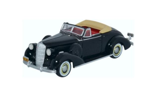 OXFORD 1/87scale Buick Special convertible coupe 1936 Black  [No.OX87BS36001]