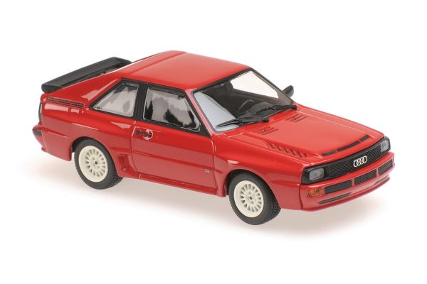 MINICHAMPS 1/43scale AUDI SPORT QUATTRO – 1984 – RED  [No.940012120]