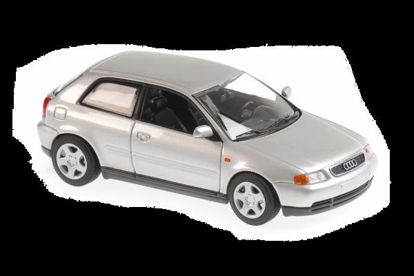 MINICHAMPS 1/43scale Audi A3 1996 Silver  [No.940015101]