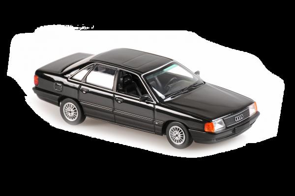 MINICHAMPS 1/43scale Audi 100 1990 Gray Metallic  [No.940015201]