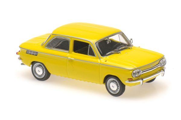 MINICHAMPS 1/43scale NSU TT – 1967 – YELLOW  [No.940015301]