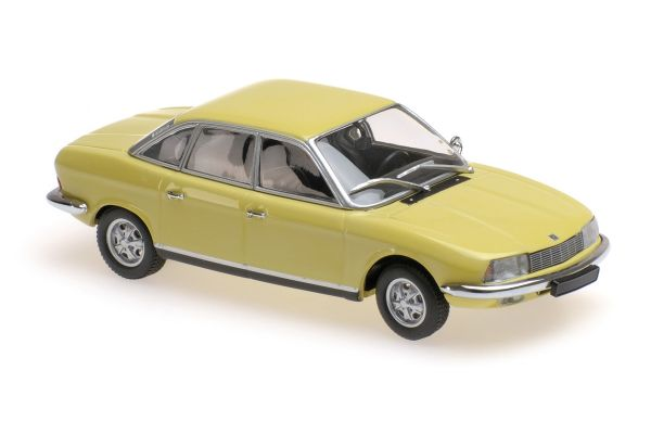 MINICHAMPS 1/43scale NSU RO80 – 1972 – CORONAGELB  [No.940015400]