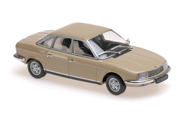 MINICHAMPS 1/43scale NSU RO80 – 1972 – SAHARABEIGE  [No.940015401]